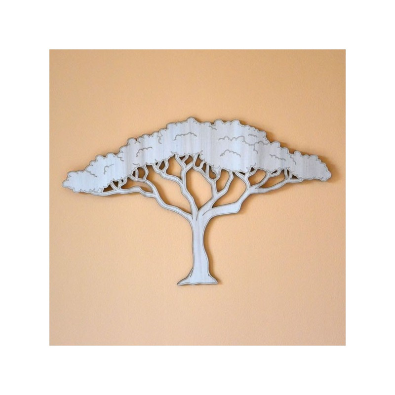 Decoration Murale Arbre Bois