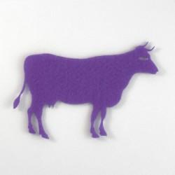 Vache feutrine