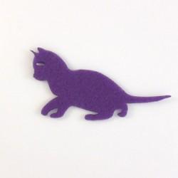 Chat chaton feutrine