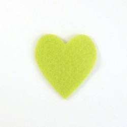 Coeur feutrine