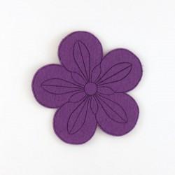 Fleur-4 feutrine