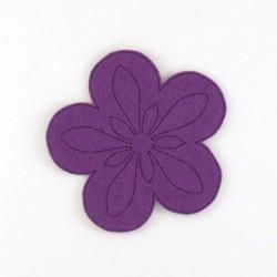 Fleur-6 feutrine