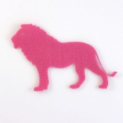 Lion feutrine