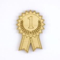 Médaille bois