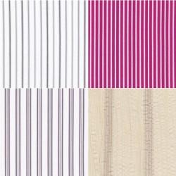 Tissu coton rayé 30 x 35 cm