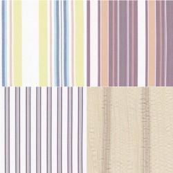Tissu coton motif à rayures 30 x 70 cm