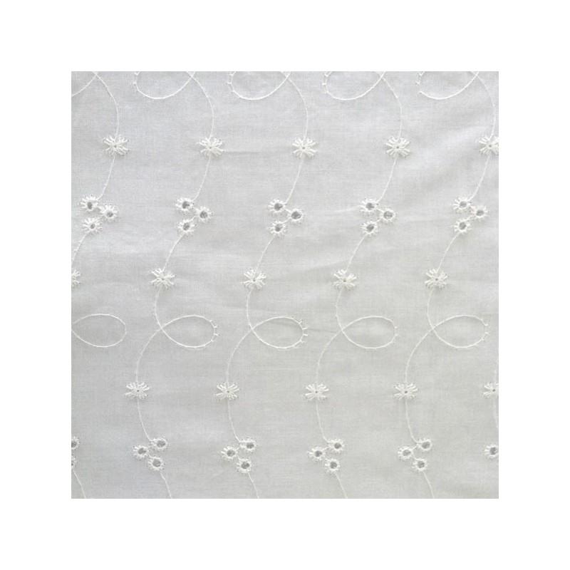 Coton brodé coton 100 % coton -30 x 35 cm