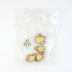 Pack de 4 tasses, théières ou cafetières minuscules, contenu surprise
