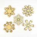 Pack n°4 de 5 cristaux de Noël