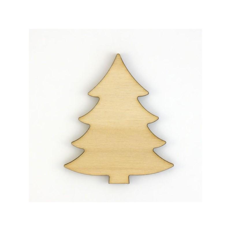 Sapin de no l en bois d coup pour loisirs cr atifs et - Decoration en bois pour sapin de noel ...