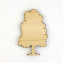 Chêne en  bois découpé