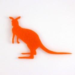 Kangourou n°2 en feutrine - coloris au choix