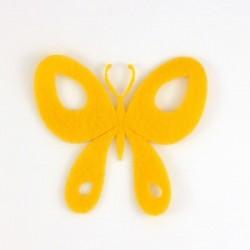Papillon n°5 en feutrine - coloris au choix