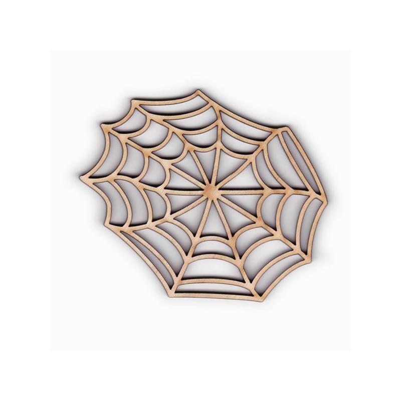 toile d 39 araign e en bois d coup et grav pour scrap et loisir cr atif. Black Bedroom Furniture Sets. Home Design Ideas