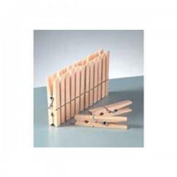 20 Pinces à linge en bois