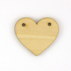 Coeur avec trous