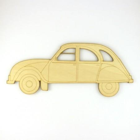 2 CV - voiture décor mural