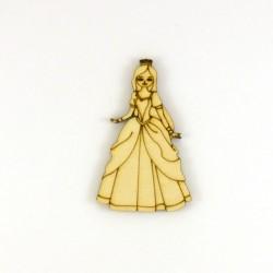 Princesse n°2 en bois