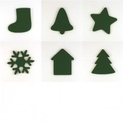 Pack 6 sujets de Noël n°2