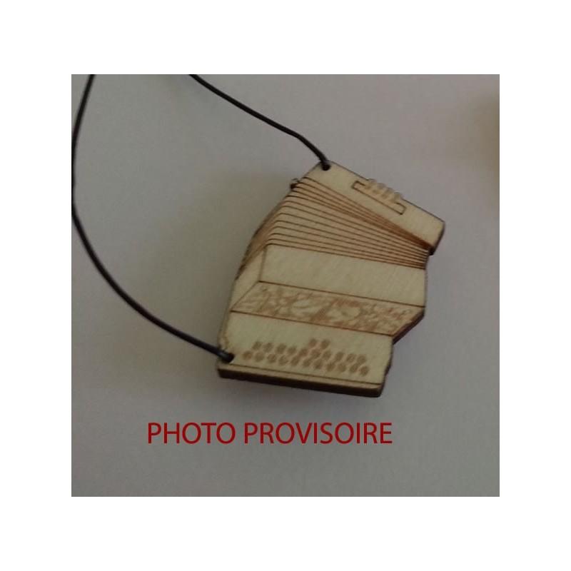 Pendentif accordéon diatonique
