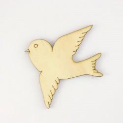 Oiseau n°2 en bois