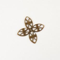 4 accessoires bijou cuivre...