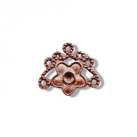 4 accessoires bijou cuivre vieilli 19 x 17 loisir créatif