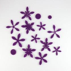 pack fleurs fines - 16 pièces