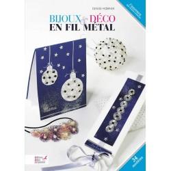 Livre pour bijoux et déco en  fils d'aluminium loisirs créatifs