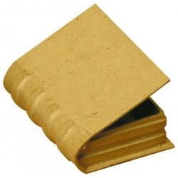 Livre en carton à décorer petite taille