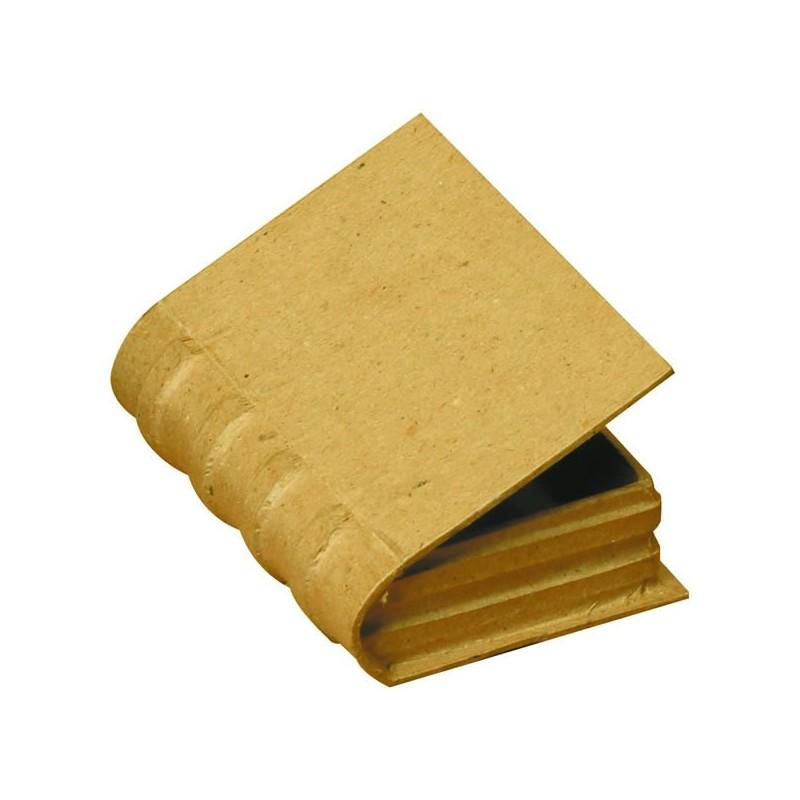 livre en carton d corer ou pas forme une bo te petite taille. Black Bedroom Furniture Sets. Home Design Ideas