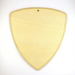 Ecusson - Blason n°2 en bois 340 x 306 mm