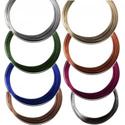 Fil aluminium 1 mm rond -10 m