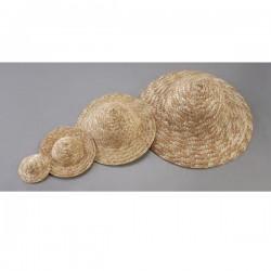 Chapeau de paille 8.5 cm