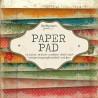 Bloc  paper pad 36 pages 6x6 double face  studio light (violet, vert, rose)