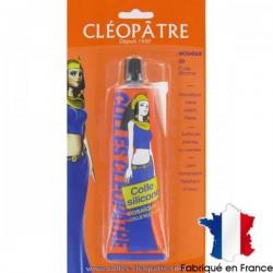 Colle sillicone cléopatre tube avec embout pratique