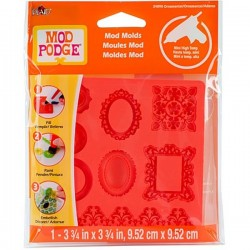 Moule Mod Podge Ornaments, 8 design
