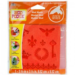 Moule Mod Podge Royal Icone, 9 design