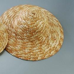 5 Chapeaux de paille 16 / 17 cm