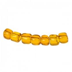 perles de rocaille orange