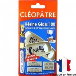 Résine Glass'100 240 ml en coffret