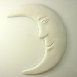 Croissant de lune en plâtre