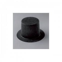 Chapeau haut-de-forme feutré 30 x 15 mm