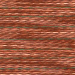 5 Coupons patchwork coordonnés orange/marron/vert coton 29,5 x 70 cm