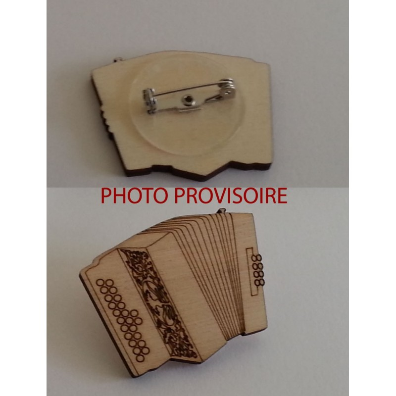 Broche accordéon diatonique