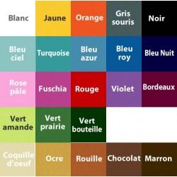 10 sujets de Pâques 40 mm - N1, feutrine coloris au choix
