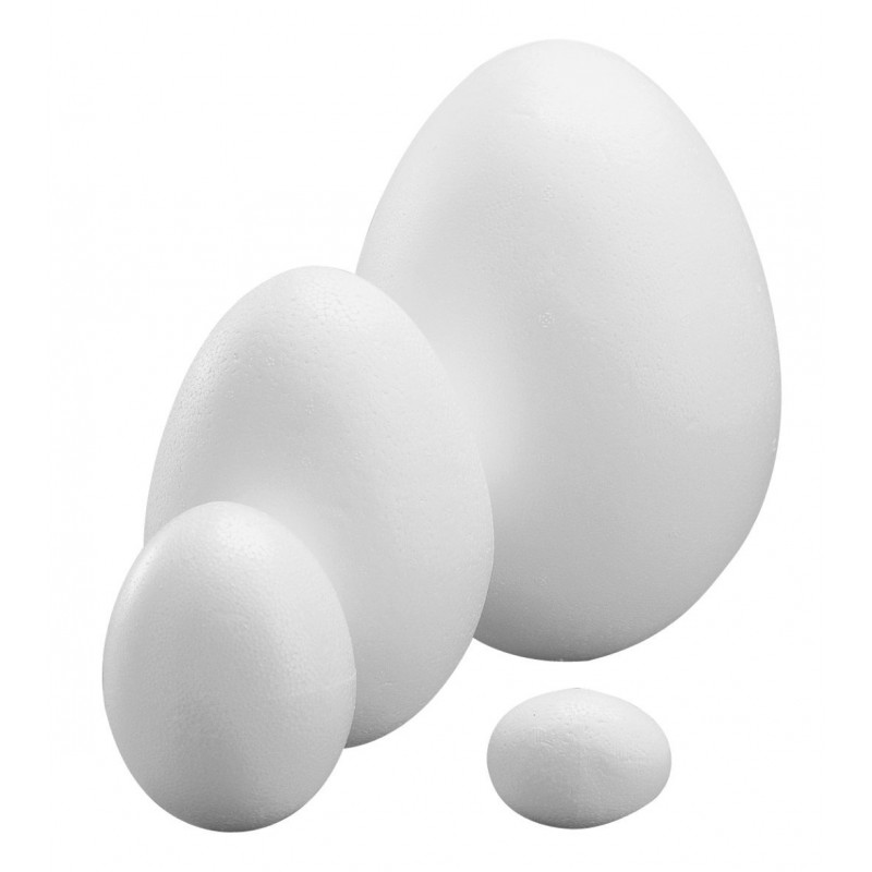 Oeuf en polystyrène taille au choix