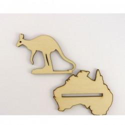 Kangourou sur pied