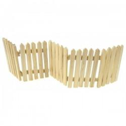 5 barrières bois miniature