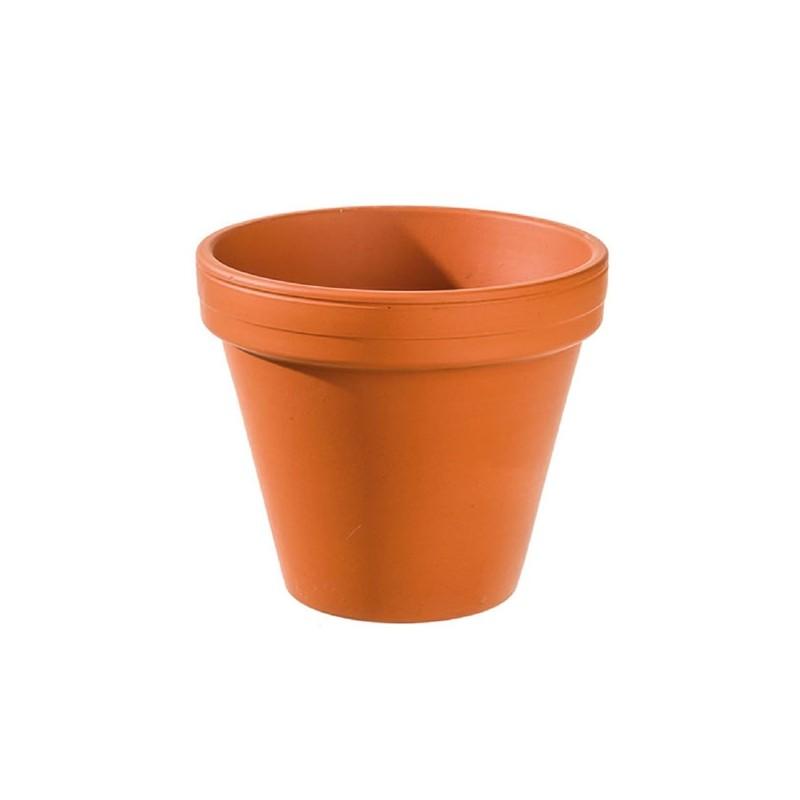3 Pots de fleur en argile 14 cm